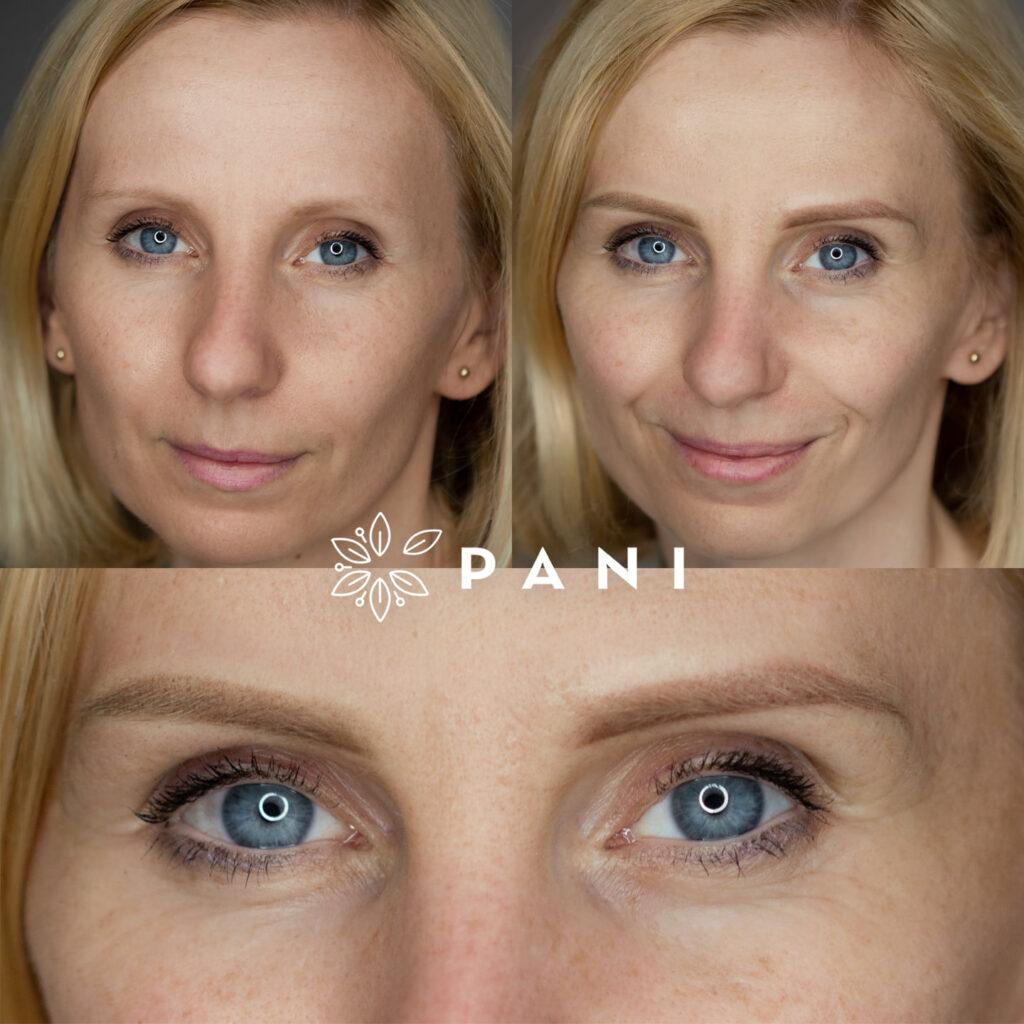 makijaż permanentny efekty